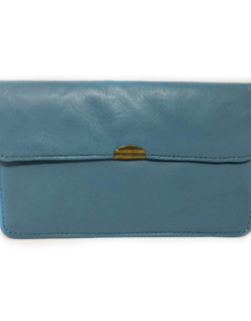 Flat Wallet-dark turquoise