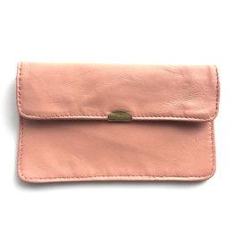Flat Wallet-nude pink