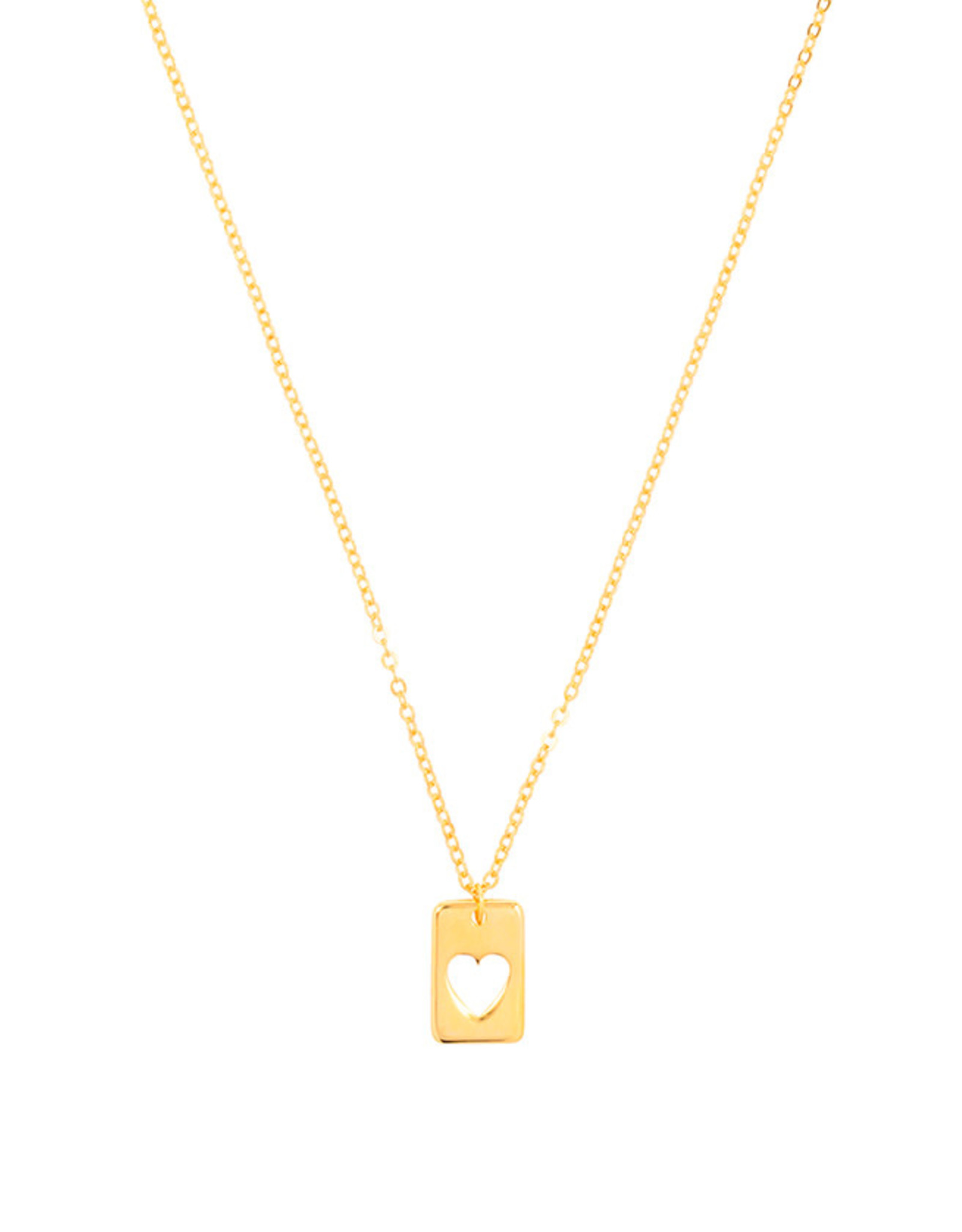Ketting Pendant Heart-gold