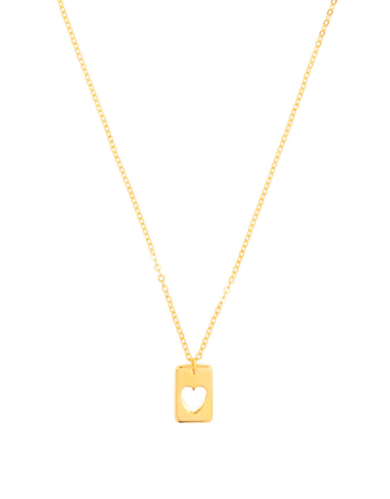 &anne Ketting Pendant Heart-gold