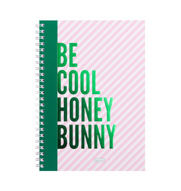 &anne Notebook Be Cool Honey Bunny