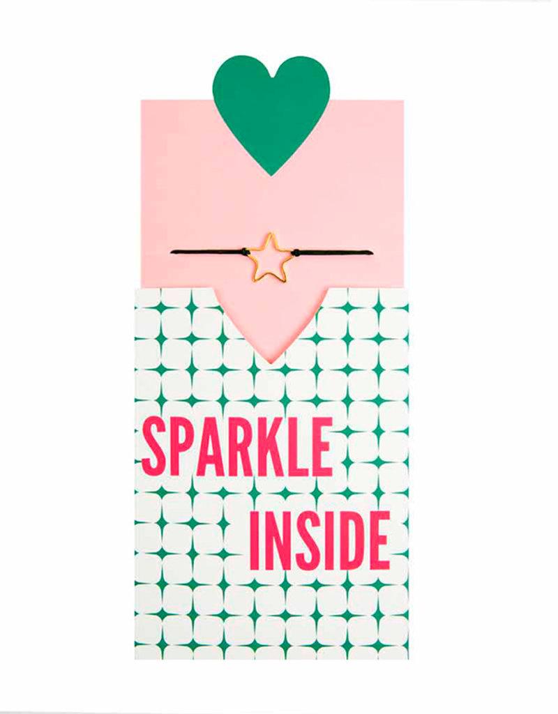 &anne Armband Satin Star-green