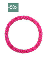 My Jewelry Roll-on armband little beads-fuchsia