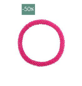 My Jewelry Roll-on armband little beads-fuchsia