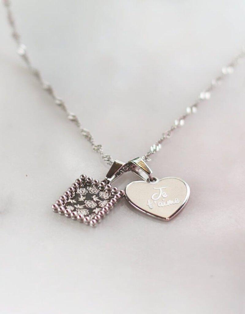 My Jewelry Charm voor ketting 'Joie de vivre'-silver