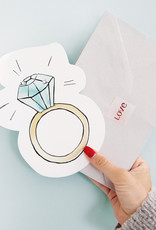 The Gift Label Wenskaart XL Cutout-Ring