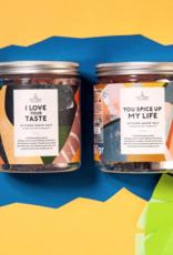 The Gift Label Kitchen Shave Salt-I love your taste