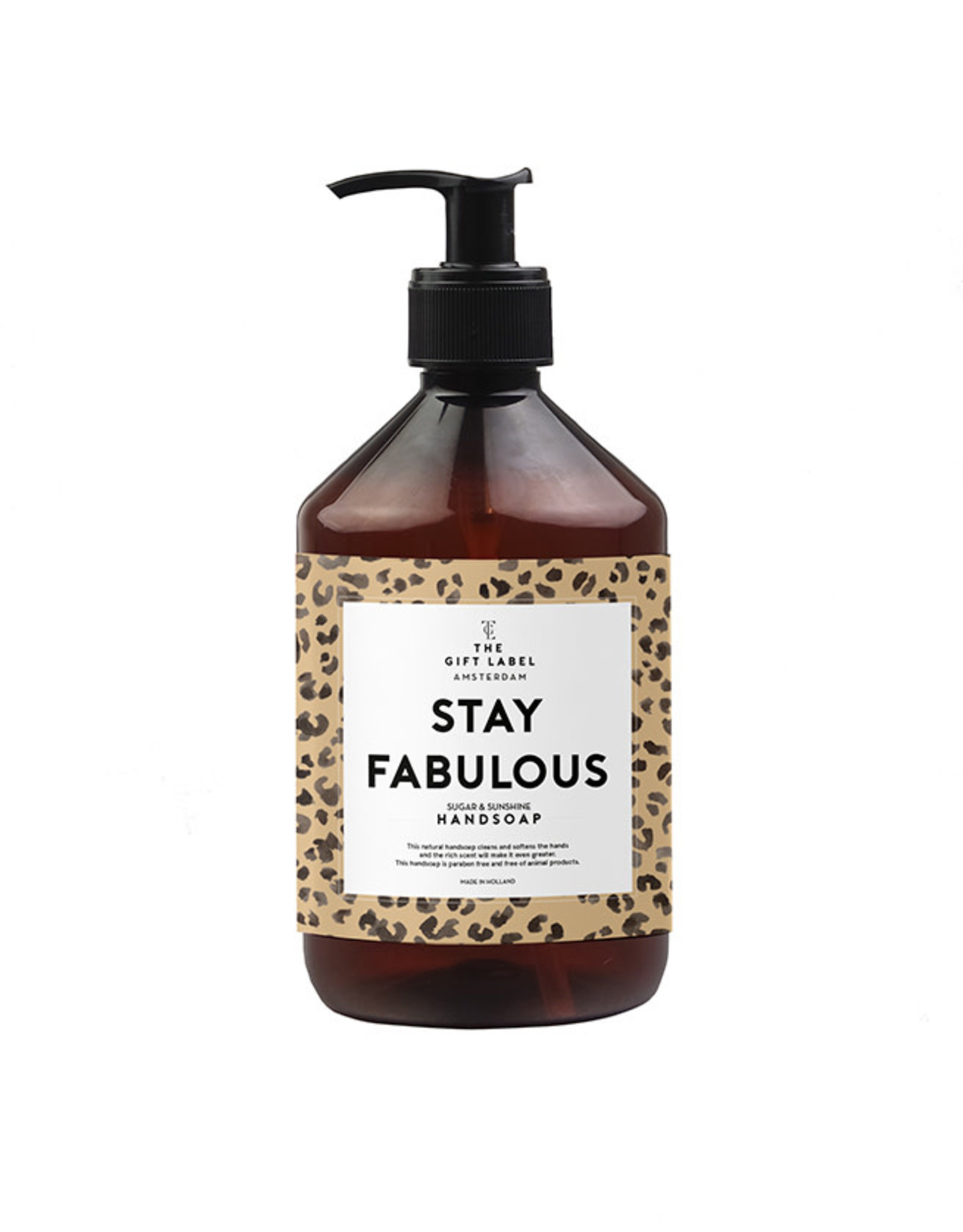 The Gift Label Handzeep-Stay Fabulous