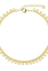 My Jewelry Enkelbandje Little Coins-gold