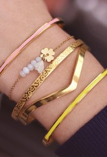 My Jewelry Bangle V Shape-silver