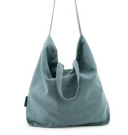 Tinne+Mia Baja Linen Shopper-dusty green