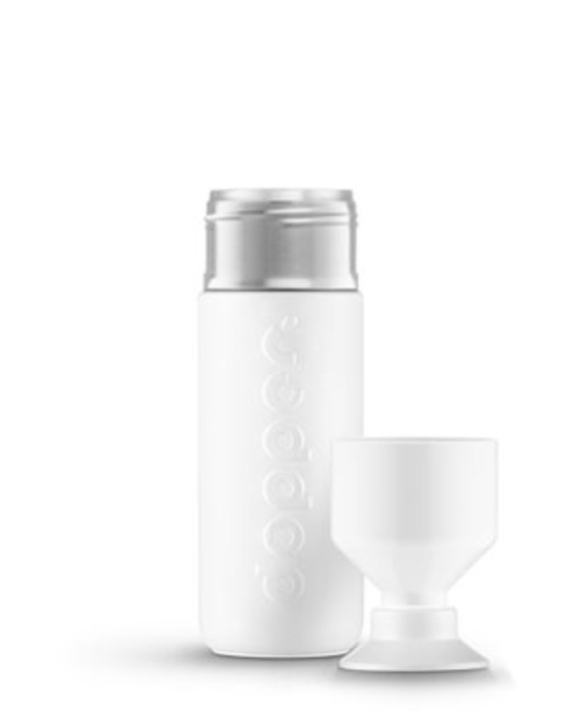 Dopper Dopper HOT&COOL insulated 580ml-wavy white