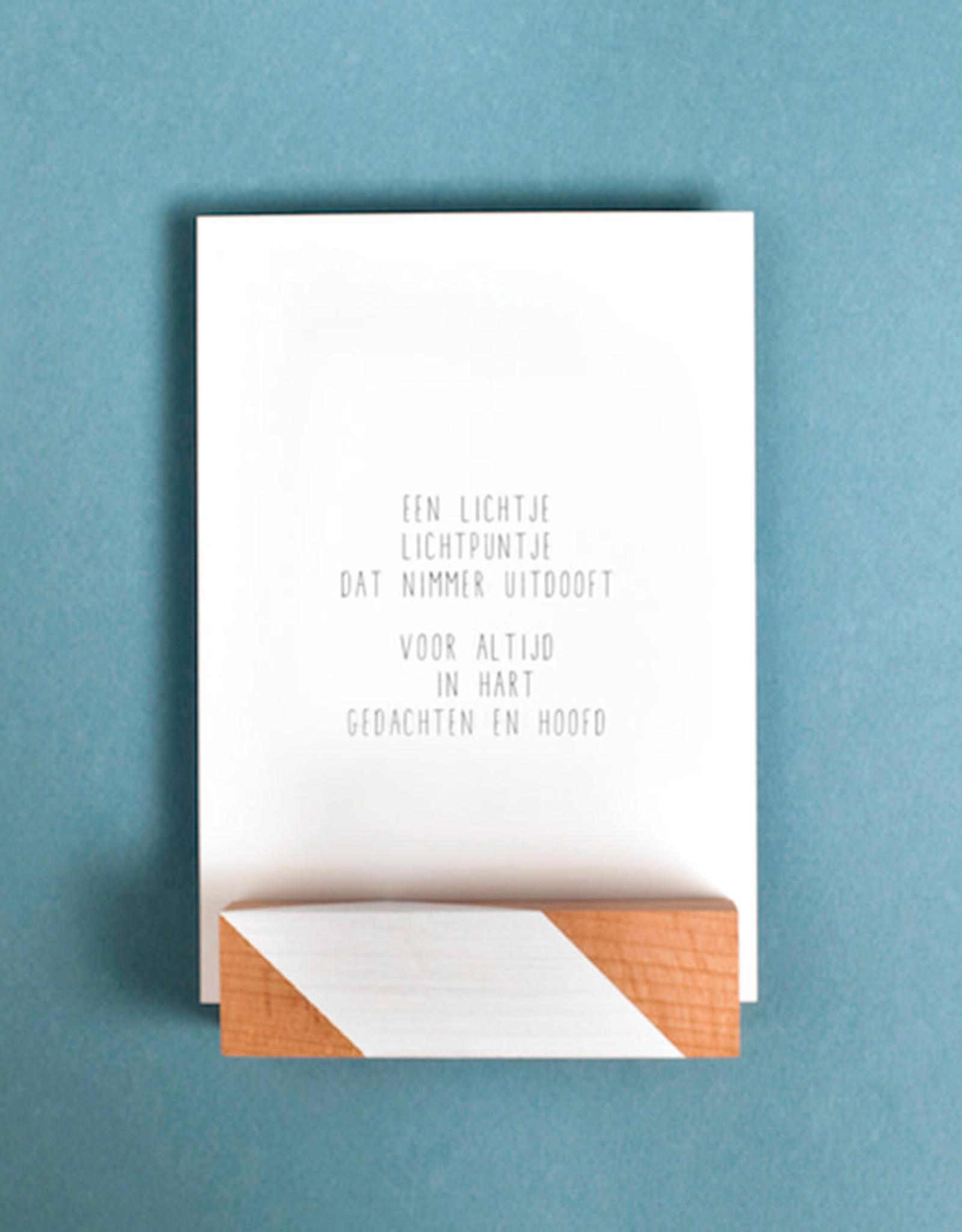 Gewoon Jip Wenskaart JIP-Een lichtje, lichtpuntje