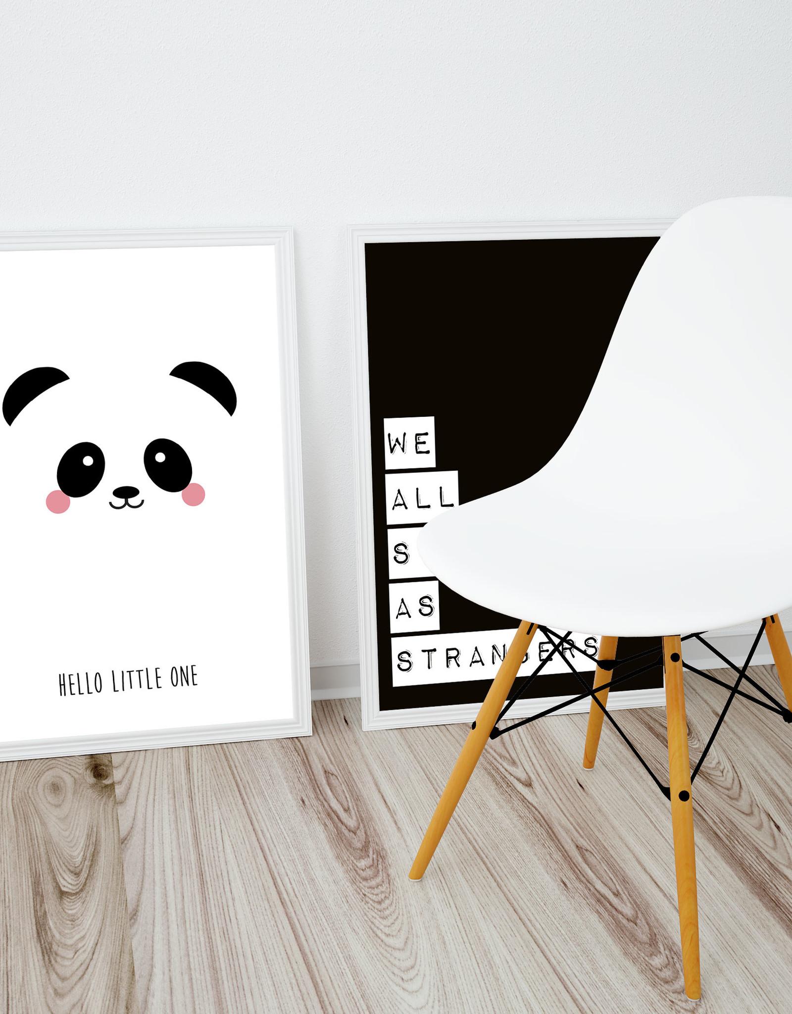 Poster Studio Inktvis-Panda Hello little one