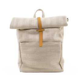 Monk & Anna Backpack HERB linen-natural