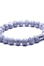 Steel & Barnett Men Bracelet Basic Stones-matt smokey