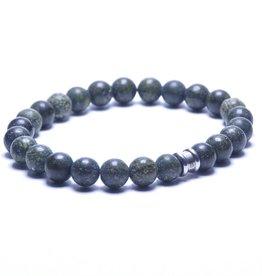 Steel & Barnett Men Bracelet Basic Stones-serpentine