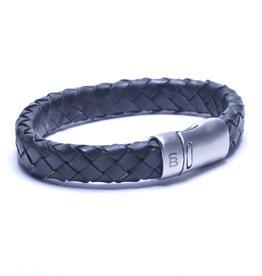 Steel & Barnett Men Bracelet Cornall Leather-black