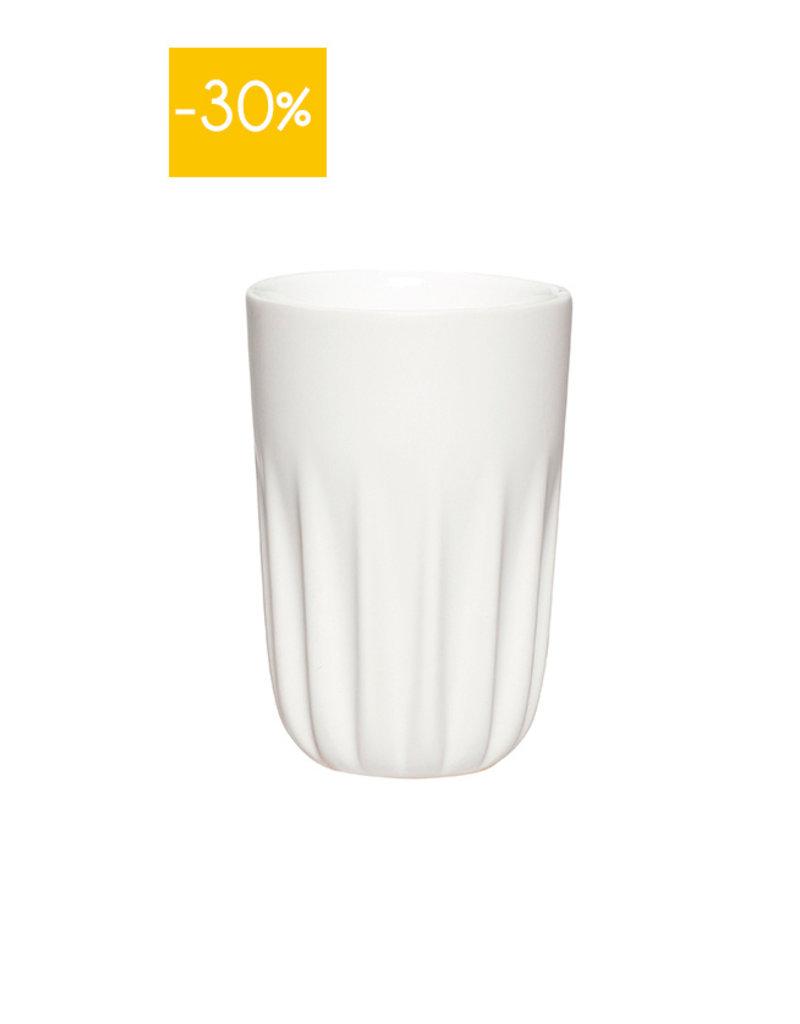 Hubsch Mug Porcelain-white