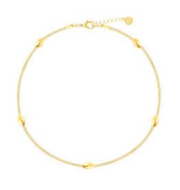 My Jewelry Enkelbandje Ovals-gold