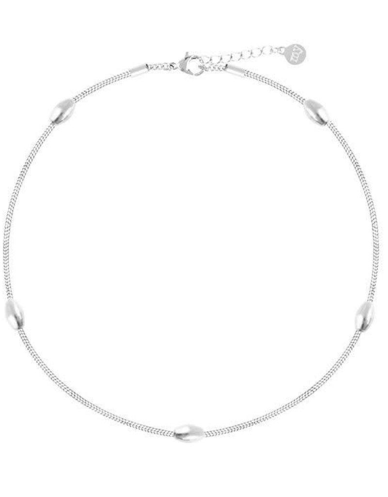 My Jewelry Enkelbandje Ovals-silver