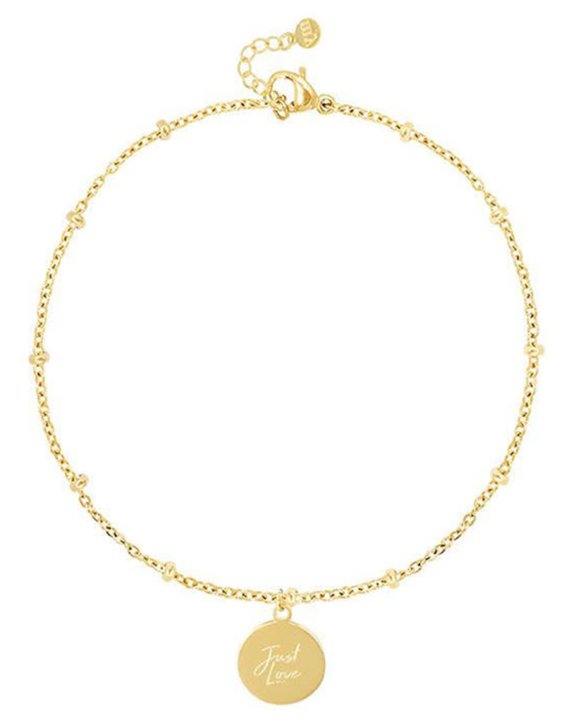 My Jewelry Armband bedel Just Love-gold