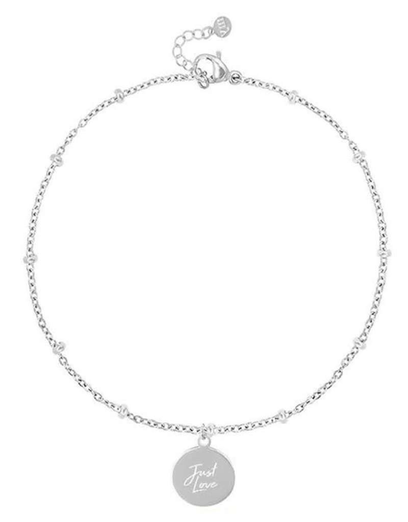 My Jewelry Armband bedel Just Love-silver