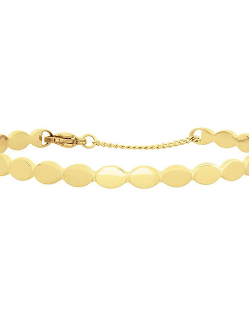 My Jewelry Bangle Ovals-gold