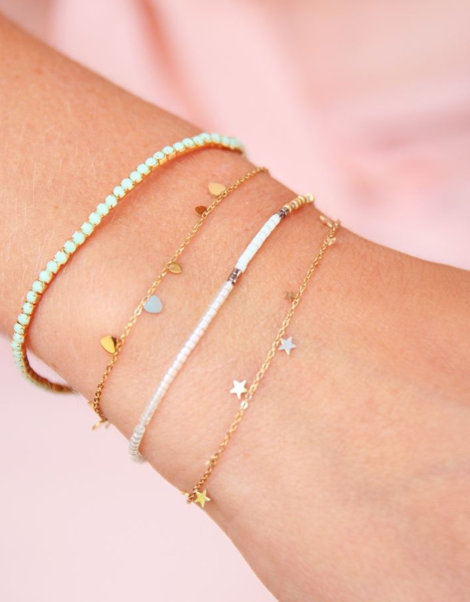 My Jewelry Armband Little Stars-gold