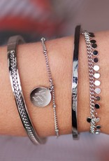 My Jewelry Armband bedel You can do it-silver