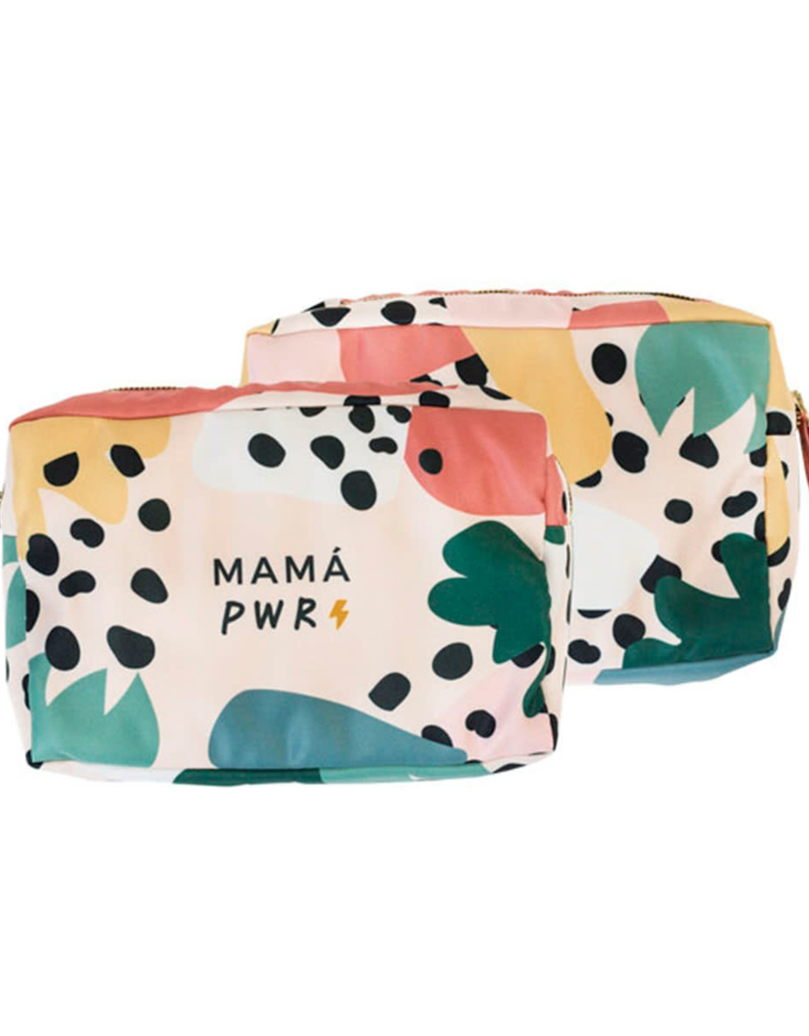 Multi Pouch/Toilettas 'Mama Power'-mix