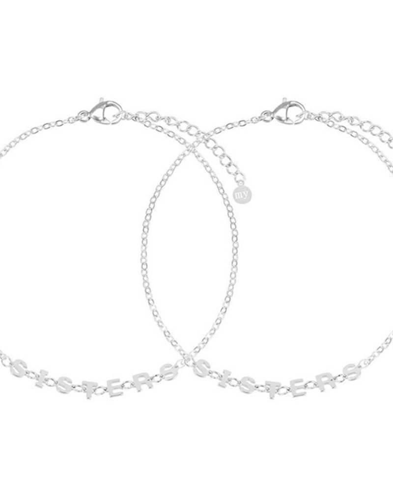My Jewelry Armband SET Sisters-silver