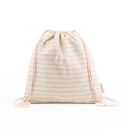 Sticky Lemon Drawstring Sportsbag Cotton-nude pink
