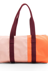 Sticky Lemon Duffle Sportsbag Vertical-blossom pink / crazy coral