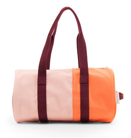Sticky Lemon Duffle Sportsbag Vertical-blossom pink / crazy coral