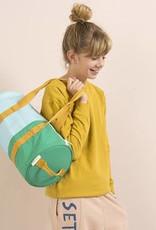 Sticky Lemon Duffle Sportsbag Vertical-retro mint / light blue