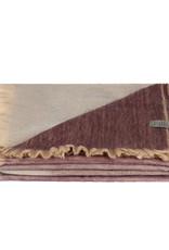Bufandy Alpaca sjaal Ombre-frozen grape