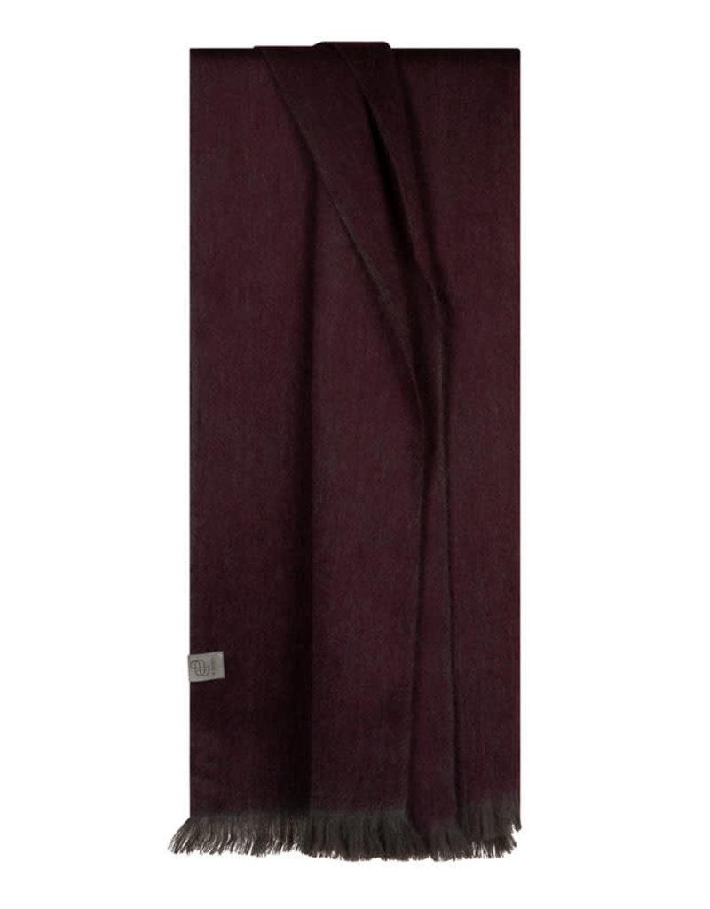 Bufandy Alpaca sjaal Fabian-mulberry purple