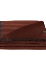 Bufandy Alpaca sjaal Fabian-maroon clay