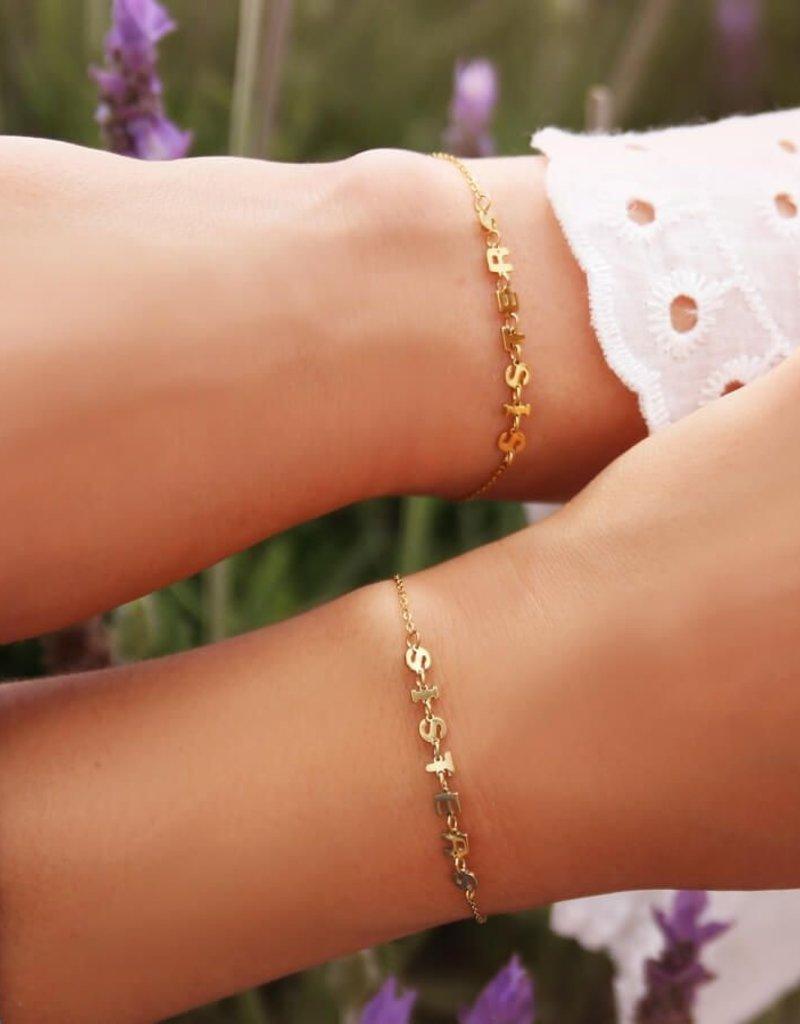 My Jewelry Armband SET Sisters-silver