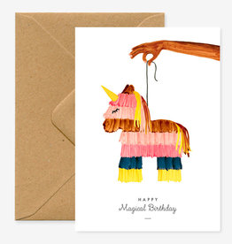 All the ways to say Wenskaart-Birthday Pinata