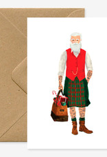 All the ways to say Wenskaart-Xmas Hipster Santa