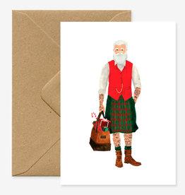 All the ways to say Wenskaart-Xmas Hipster Santa