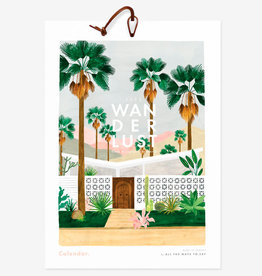 All the ways to say Kalender 2020-Wanderlust