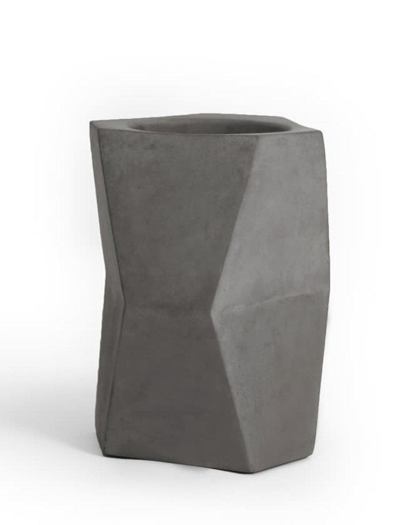 Atelier Pierre Facet Wijnkoeler-dark grey