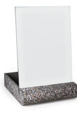 Atelier Pierre Fifty Mirror Memo Board-terrazzo dark