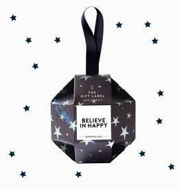 The Gift Label Xmas Surprise Ball-Believe in Happy (handcreme+lipgloss)