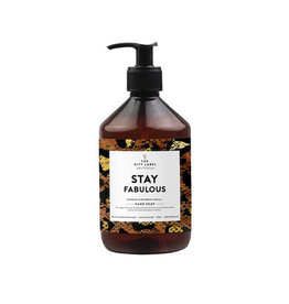 The Gift Label Handzeep-Stay Fabulous Xmas