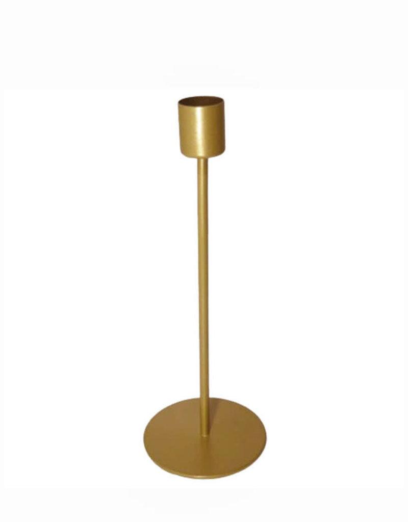 Candle Holder Sprit 18cm-gold