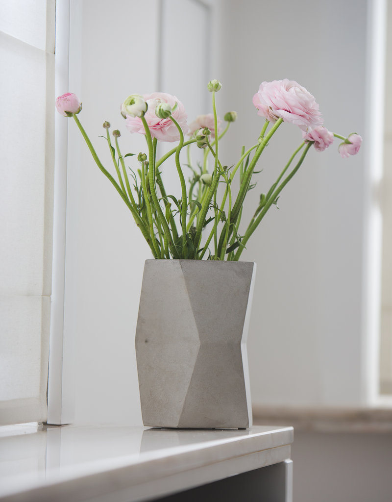 Atelier Pierre Facet Wijnkoeler-light grey